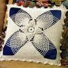 tığ işi dekoratif yastıklar