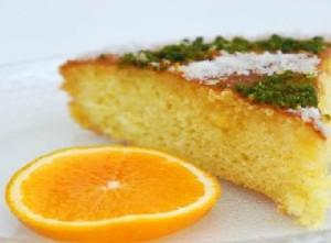 Portakalı kek