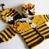 bebek örgüleri ceket patik şapka takımı modelleri örnekleri