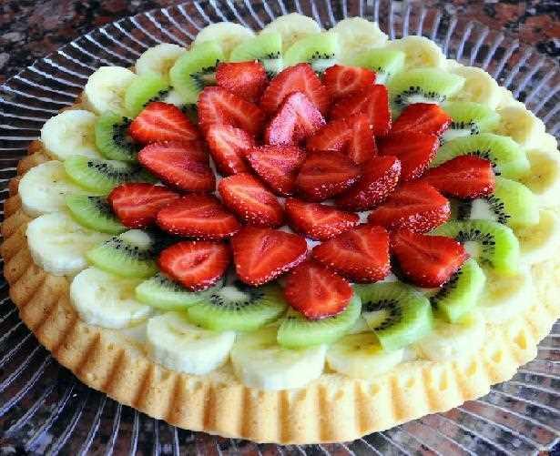 Muzlu Meyveli Tart