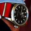 marin kayışlı erkek saati