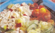 Naneli Makarna Salatası