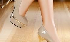İnce Topuk Platformlu Ayakkabı Modelleri