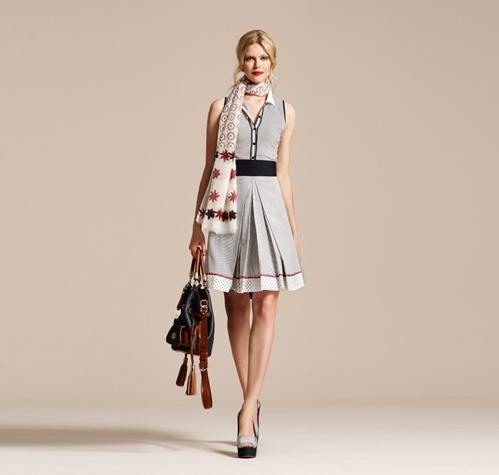 Vakko Marin Elbise Modeli