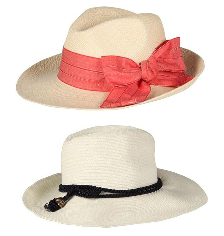 Vakko Plaj Modası Şapkalar