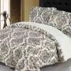 Şal desenli yatak örtüsü dizaynları