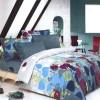 şık dekoratif desenli yatak örtüleri