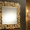 Avangarde altın yaldızlı duvar aynası modelleri