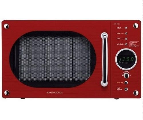 Kırmızı daewoo mikrodalga fırın modeli