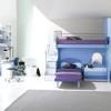 Mavi çocuk odası dizaynı