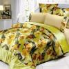 egzotik desenli yatk örtüsü tasarımı