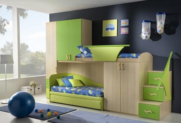 modern cocuk odaları