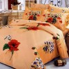 turuncu çiçekli yatak örtüsü örnekleri