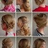 çeşitli genç kız saç modelleri