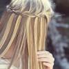 basit saç örgüsü