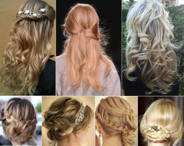romantik saçlar