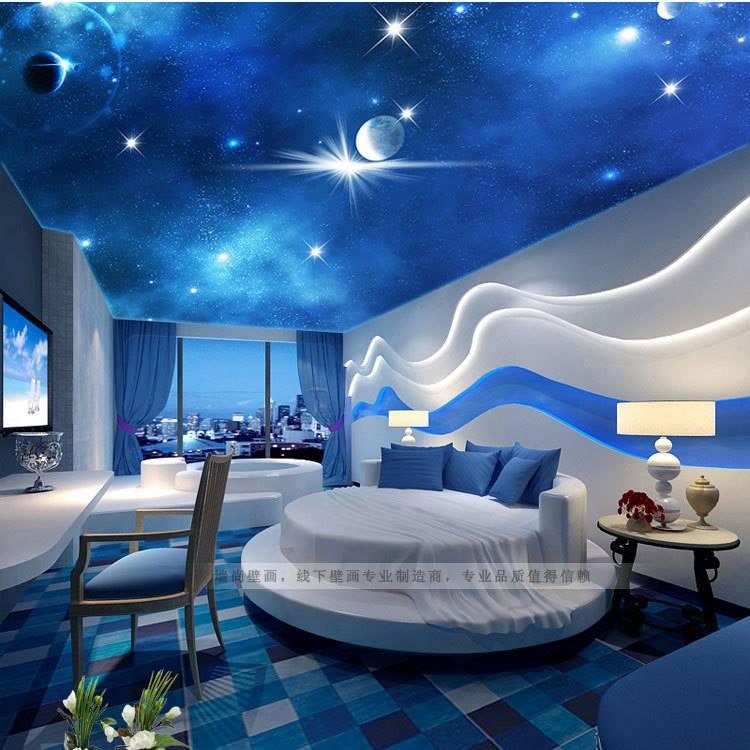 Youth Bedroom Wallpaper