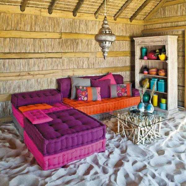 Les Salones Marocaines : Rengarenk otantik koltuklar