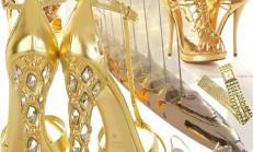 Lame ve Dore Abiye Ayakkabı Modelleri