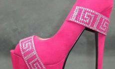 Zarif Burnu Açık Ayakkabı Modelleri