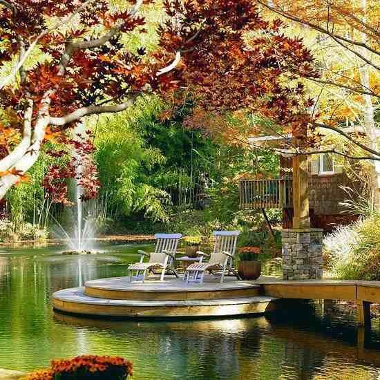 göl manzaralı ev resimleri