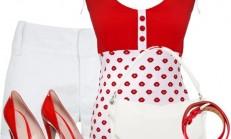 Renkli Şort ve Pantolon Kombin Modelleri