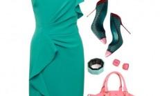 Diz Üstü Elbise Kombin Modelleri