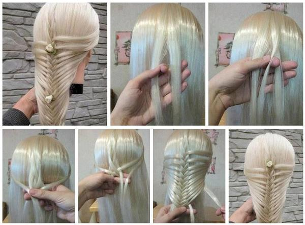 balık sırıt saç nasıl yapılır