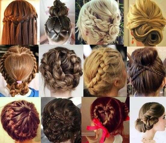 farklı farklı saç toplama