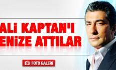 Erkan Petekkaya'yı Denize Attılar