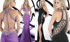 Yeni Sezon Renkli Abiye Elbise Modelleri