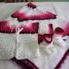 örgü battaniye hırka ve patiği