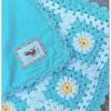 motifli bebek battaniyesi
