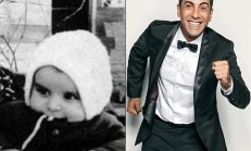 Dünden Bugüne Ünlülerden Çocukluk Fotoğrafları