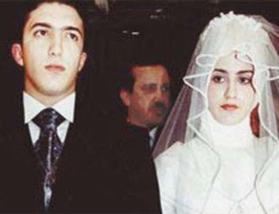 Ahmet Burak Erdoğan ile Sema Ketenci'nin evlilik resmi