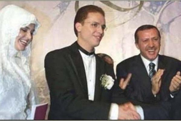 Bilal Erdoğan ile Reyyan Uzuner'in evlilik resmi