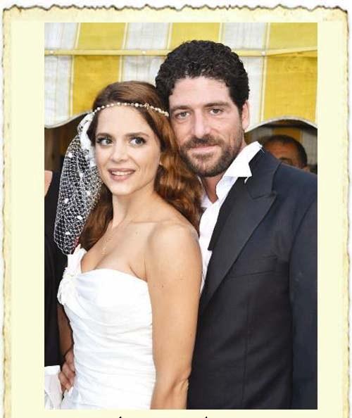 Cemal Hünal ile Lale Cangal'ın evlilik resmi