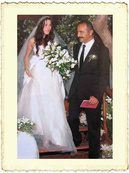 Yılmaz Erdoğan ile Belçim Bilgin'in evlilik resmi