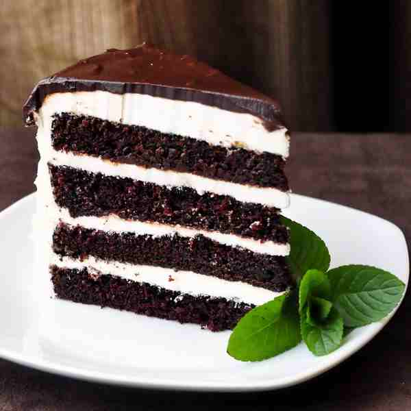 nane kremalı çikolatalı pasta tarifi