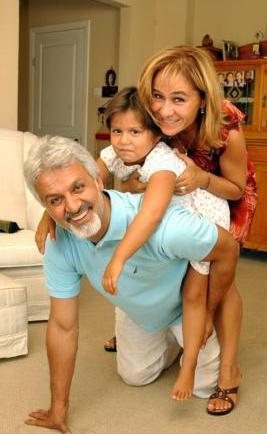 Talat Bulut'un Pınar Afşar ile evliliğinden Kızı Hazal
