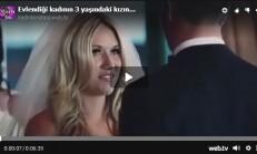 Evlendiği kadının 3 yaşındaki kızına göz yaşartan konuşma yapan damat