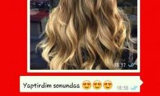 950 TL'ye Saçını Boyatan Kadın Sosyal Medyada Tepkilere Neden Oldu