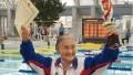 Yüzme Rekoru Kıran 100 Yaşındaki Japon Kadın