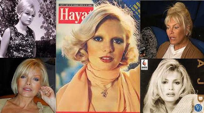 Ajda Pekkan'ın yaşlılık resimleri
