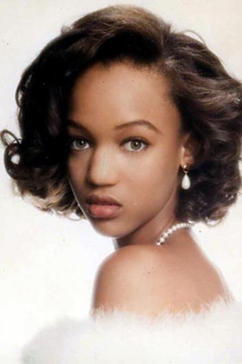 Tyra Banks henüz acemi bir mankenken