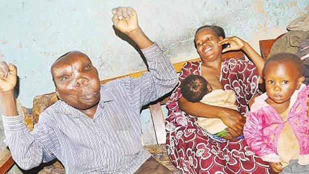 Godfrey Baguma' nın ailesi
