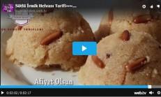 Sütlü İrmik Helvası Tarifi Videolu