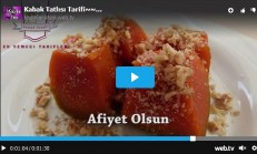 Kabak Tatlısı Tarifi Videolu