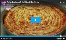 Hazır Yufkadan Kıymalı Kol Böreği Tarifi Videolu