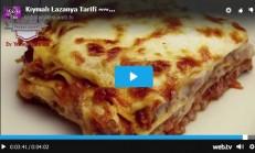 Kıymalı Lazanya Tarifi Videolu